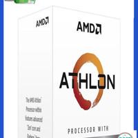 AMD Athlon 3000G (Radeon Vega 3) 3.5Ghz AM4 [BOX] - 2 Core Diskon