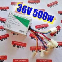 KONTROLLER DC 36V 500W BRUSHED DINAMO 2 KABEL tools n parts