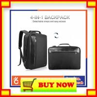 CK213 TIGERNU Tas Ransel Backpack Bisnis 4 in 1 Style USB Charger - T-