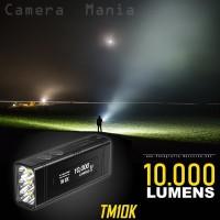 Senter NITECORE TM10K 10000 Lumens Tiny Monster LED CREE XHP35 HD