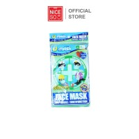 DIsposable Consumable Masker Earloop 3ply Green @5