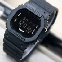 Jam Tangan Pria Sporty G-Shock Digital DW-5600 - Full Black