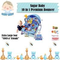 Sugar Baby Rocking 10 in 1 Premium Bouncer Extra Large Seat / Swinger