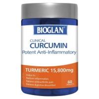 Bioglan Clinical Curcumin 60 Tablets Turmeric Reduce Inflammation