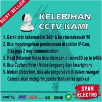 TERBAIK CCTV KAMERA HP WIFI MINI MURAH WI-FI IP CAMERA CCTV OUTDOOR