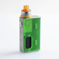 Authentic Luxotic BF Squonk Kit Box Mod Green 100w by WISMEC