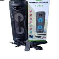 Speaker Multimedia FLECO F-8880 Free Mic - Speaker Bluetooth Portable
