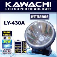 Senter Kepala Kawachi LY-430A 30W - Headlamp Kawachi LY-430 Waterproof