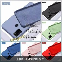 softcase Samsung m21 case anti noda soft case silicon m21