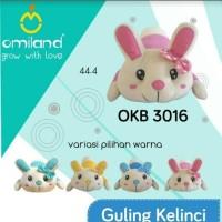 Omiland Guling Bayi Karakter/Guling Kelinci Anak/Mainan Boneka Kelinci