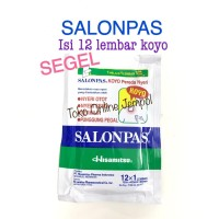 Salonpas Koyo Nyeri Otot Nyeri Terkilir Punggun Pegal Patch KS24SP