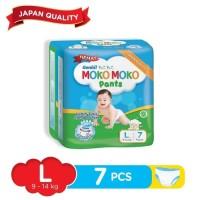 Genki Moko Moko Pants isi 7pcs ukuran L