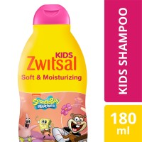 Zwitsal Kids Shampoo Pink Soft & Moisturizing 180Ml