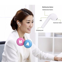 Headset Handfree Earphone Bluetooth Wireless TWS-i7