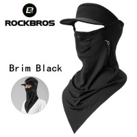 Masker Tutup wajah ada topi hitam Pelindung matahari nn store sepeda