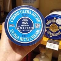 LOccitane Shea Butter Ultra Rich Body Cream