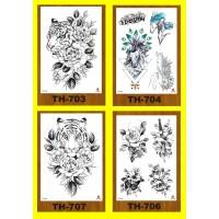 Tattoo/Tattoo temporary/Tattoo Temporer/Tatto 21x15cm TH 703733
