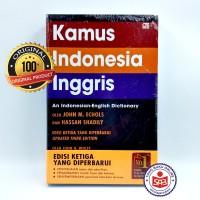 Kamus Indonesia Inggris Softcover Original - John M. Echols