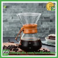 OHFIN Coffee Maker Pot V60 Drip Kettle Teko Kopi Barista 600ml - SE11