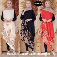 Dress Batik Manohara - Merah