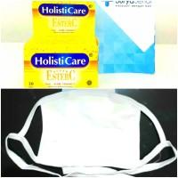 Paket Masker + Ester C holisticare 30 tablet