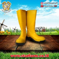 Sepatu AP Boots Terra Safety Kuning - Star Farm