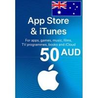 Itunes $50 Aud region Australia
