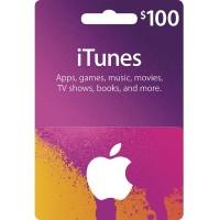Itunes $100 USD region Usa