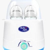 Baby Safe Twin Bottle Botol Warmer & Sterilizer 4 in 1/Penghangat Susu