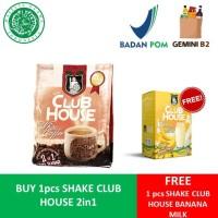 BUY 1 GET 1 FREE - Shake Club House 2 in 1 White Coffee Bag