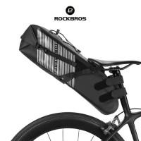 ROCKBROS AS-013 Saddle Pannier Bag Foldable Large Capacity -Tas Sepeda