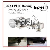 Knalpot Racing Efek Suara Turbo Mobil Motor UNIVERSAL - M