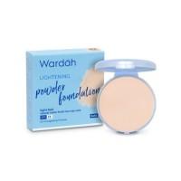 Wardah Refill Lightening Powder Foundation Light Feel 02 Golden Beige