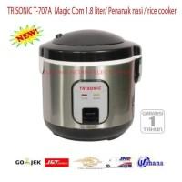 MAGIC COM TRISONIC RICE COOKER 1.8 LITER TRISONIC T-707A NEW