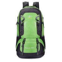 Tas Gunung Backpack Mountaineering 60L Bahan Awet Kuat Waterproof Bag