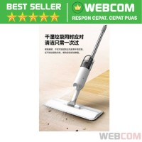 Alat Pel Semprotan Spray Mop Magic Flat Microfiber - Alat Pel Praktis
