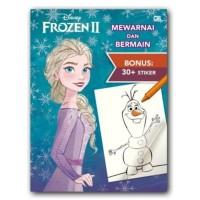Buku Mewarnai Anak Bonus Sticker Disney Frozen 2 Mewarnai Dan Bermain