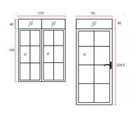 Pesanan Pintu dan Jendela Ornamen (Cust. Sella Jatibening)