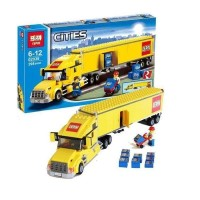 Lepin 02036 City Truck Compatible Lego 3221