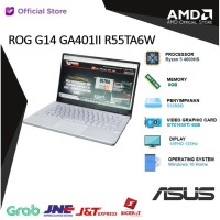 ROG Zephyrus G14 GA401II R55TA6W | Ryzen 5 4600HS 8GB 512ssd GTX1650Ti