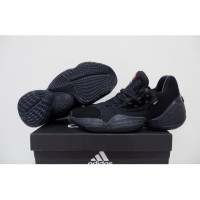 Sepatu Basket Adidas Harden 4 Low Triple Black