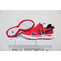 Sepatu Basket Nike Paul George 4 Pg Low Red White