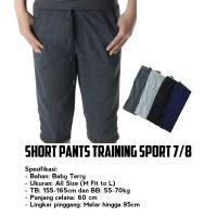 CELANA SHORT PANTS TRAINING SPORT 7/8