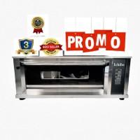 Oven Gas Automatis Full Digital Body Full Stainles 304