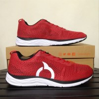 SEPATU RUNNING ORTUSEIGHT VECTOR 11030015 ORTRED/WHT