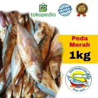 ikan asin peda merah.54000/1kg