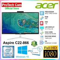 ACER PC ALL IN ONE C22-866 - i3 8130U 4GB 1TB MX130 2GB 21,5 FHD W10