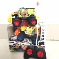 Mainan Mobil Remote Control RC Jeep Rock Crawler