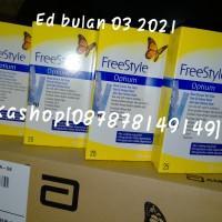 FreeStyle Optium Strip Darah 25