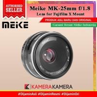 Lensa Meike 25mm F1.8 Lens for Fuji X-Mount Mirrorless Camera